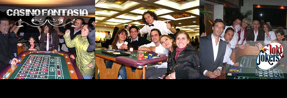 Casino de Fantasía Fiestas de casino